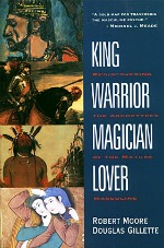 Book coverof King Warrior Magician Lover by Robert Moore.