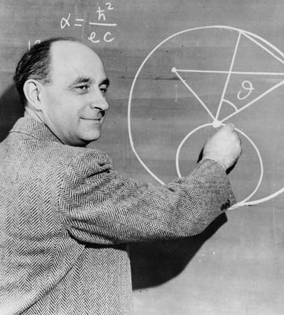 Vintage professor drawing graph on blackboard.