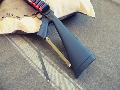 survival shotgun modified zombie apocalypse makeshift saw