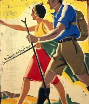 A couple going for hiking panting.