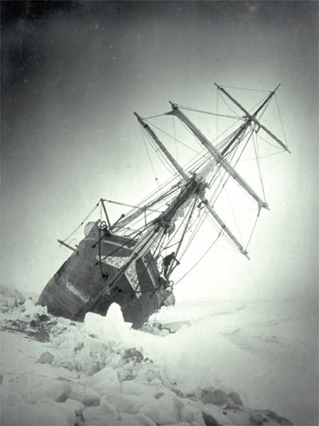endurance ship shackleton expedition trapped in ice