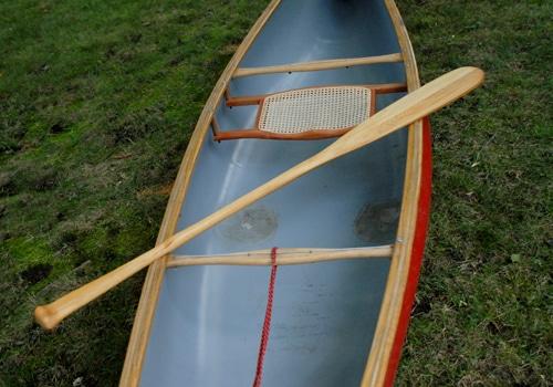 Paddle on a Canoe.