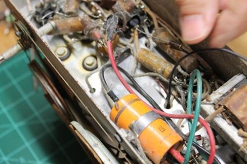 Tube amplifier.