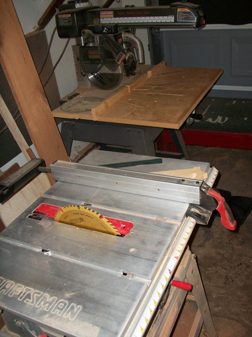 power tools machines needed for homemade dining room table