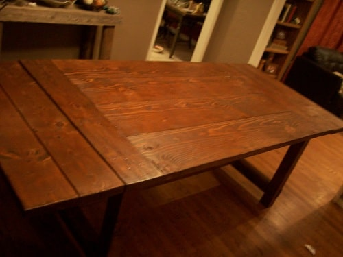 84 dining room table art of manliness diy pete art of manliness