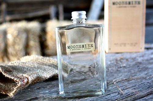 Moonshine cologne bottle.
