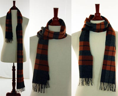 how to tie scarf once around
