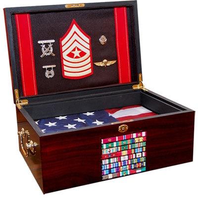 Military jewelry box.