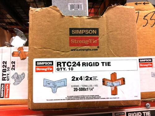 Rigid tie carton by simpson.