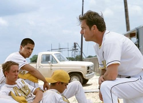 the rookie movie disney dennis quaid jim morris