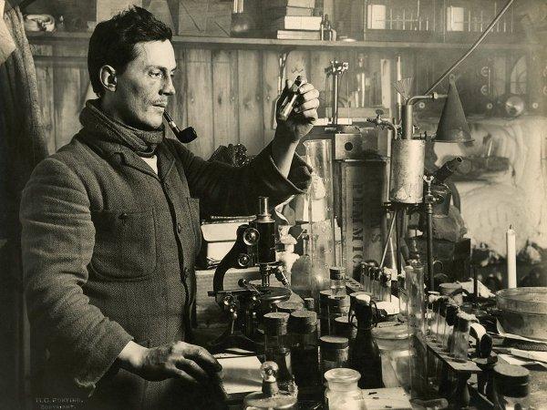 Dr. Edward Atkinson, part of Scott's antarctic scientific team.