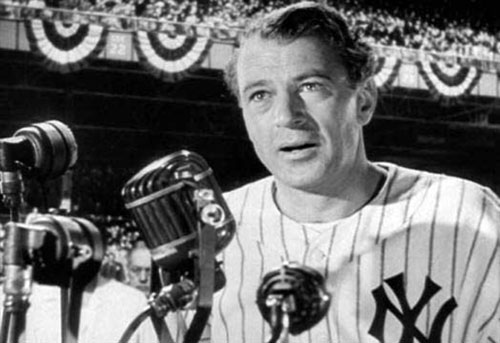 pride of the yankees movie gary cooper gehrig speech