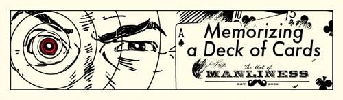 memorize a deck of cards close up man's eye laser beam