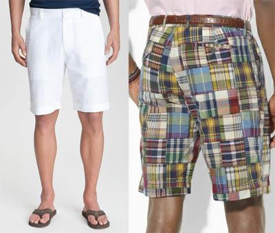 Cotton shorts for men.
