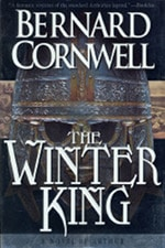 Book cover of The Winter King by Bernard Cornwell.