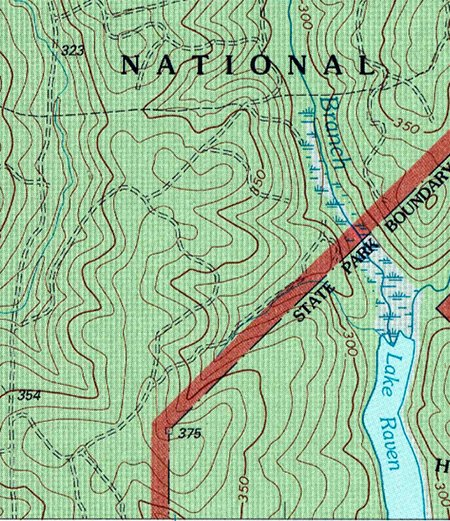How To Read A Topo Map The Art Of Manliness - Ground elevation map