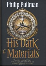 Book cover of His Dark Materials by Philip Pullman.