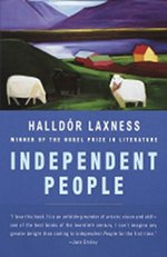 Book cover of Independent PeoplebyHalldór Laxness.