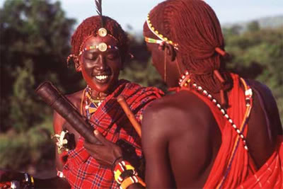 The ancient african tribes.