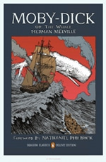 Book cover of Moby-Dickby Herman Melville.