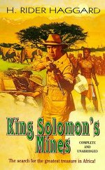 Book cover of King Solomon's Minesby H. Rider Haggard.