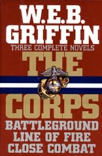 Book cover of The Corps Seriesby W.E.B Griffin.