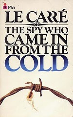 Book cover of The Spy Who Came in from the Cold by John leCarré.