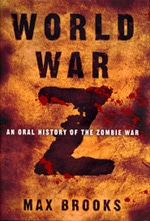 Book cover of World War Z Warby Max Brooks.