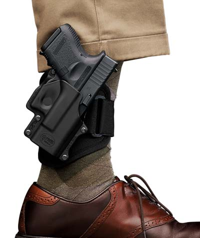 ankle holster for small handgun dress pants shoes