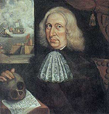 Self Portrait by Thomas Smith, 1680