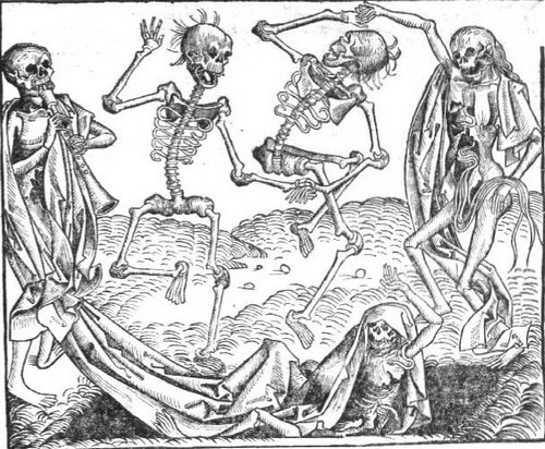 The Dance of Death by Michael Wolgemut, 1493