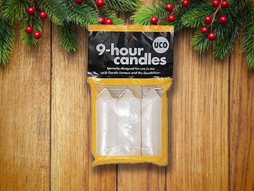 UCO's 9-Hour candles.