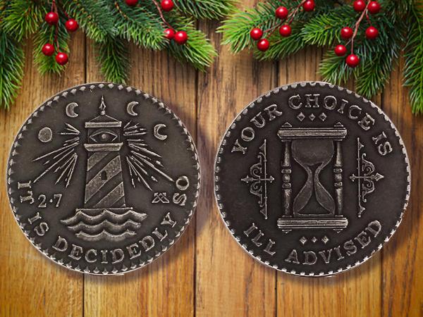 J. L. Lawson decision coin.