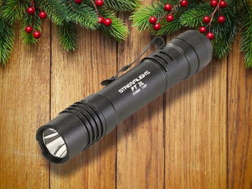 Tactical Black Flashlight.