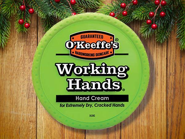 "O'Keeffe's ""Working Hands"" hand cream."