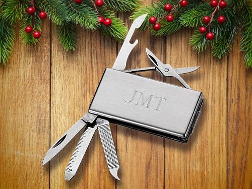 Grey money clip by JMT.