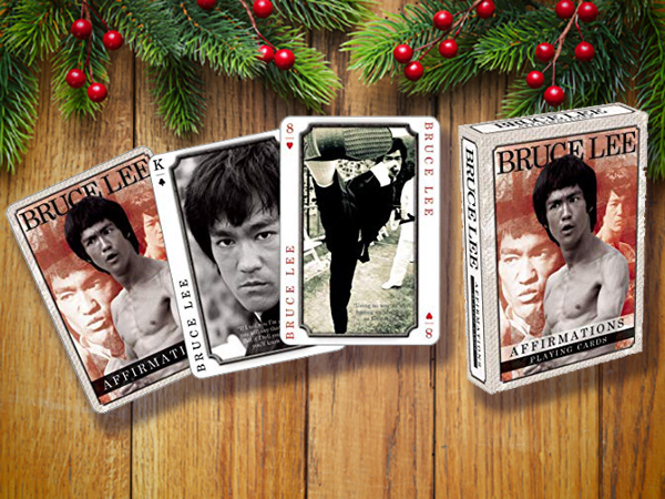 Bruce Lee's playing cards.