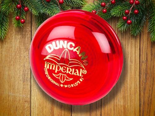 Duncan Imperial's red yo-yo.