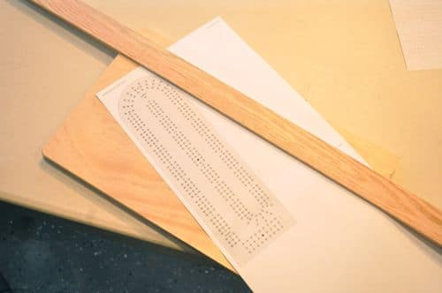 diy wooden cribbage board plan template and wood
