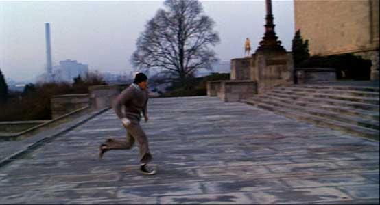 rocky balboa running stairs rocky movie