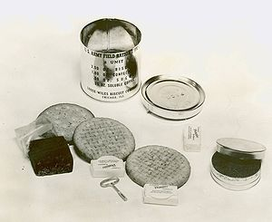 soldier's c-ration hot chocolate cocoa 1944