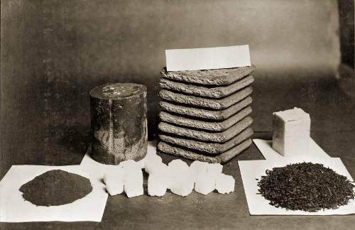 Daily ration of coca Robert Falcon Scott south pole expedition.