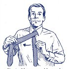 How to Tie a Four-in-Hand Necktie Knot: Your 60 Second Visual Guide