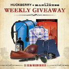 The Weekly Huckberry Giveaway: October 5, 2012