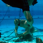 Take the Navy SEAL Underwater Knot Tying Test