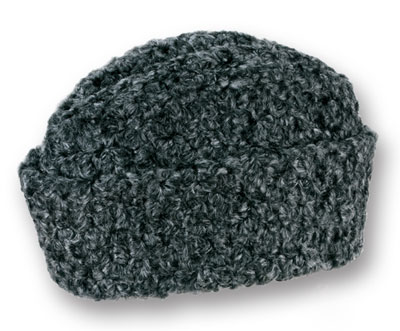gray knit ambassador winter hat cap