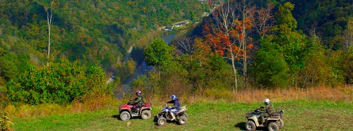 Hatfield-McCoy off-road ATV Trails, West Virginia