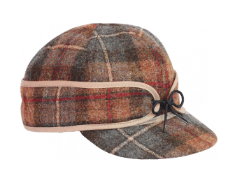plaid pattern stormy kromer hat