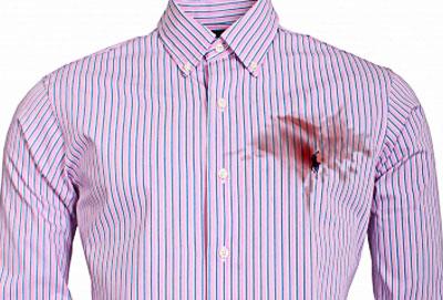 vintage Shirt stain 400 illustration.