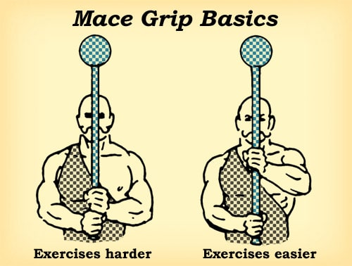 mace workout how to grip basics